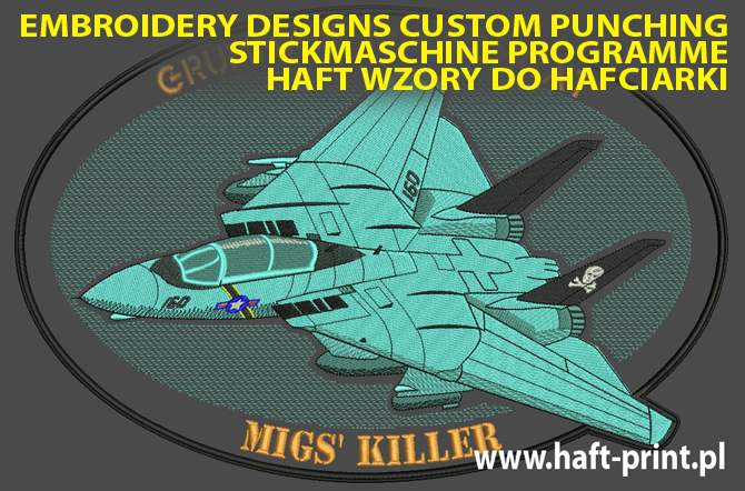 custom embroidery designs  Nähmaschine stickmaschinen programme warbirds warplane aircrafts tanks badges patches alte flugzeuge f-14 tomcat f-16embroidery  punching punchenung von stickprogramme  falcon typhoon eurofighter.jpg